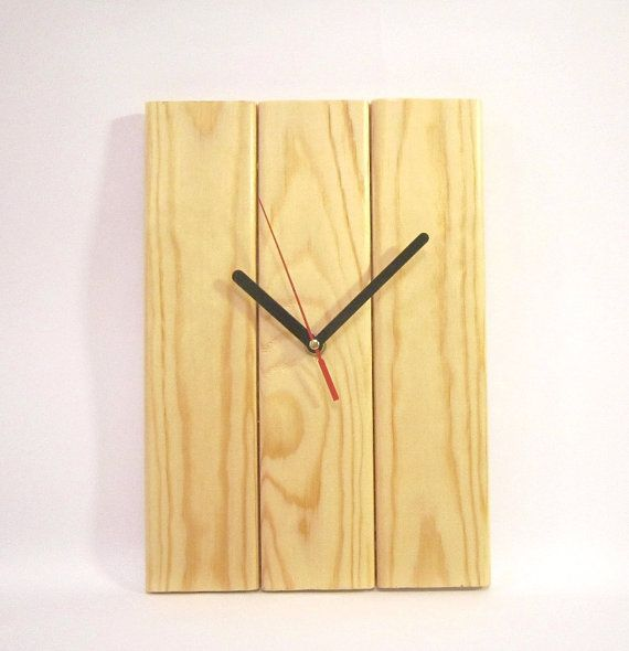 Wall clock wall clocks christmas gift free shipping by WoodenWood, $51.00