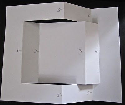 Trifold Instructions 2 Tri Fold Cards Folded Cards Step Cards