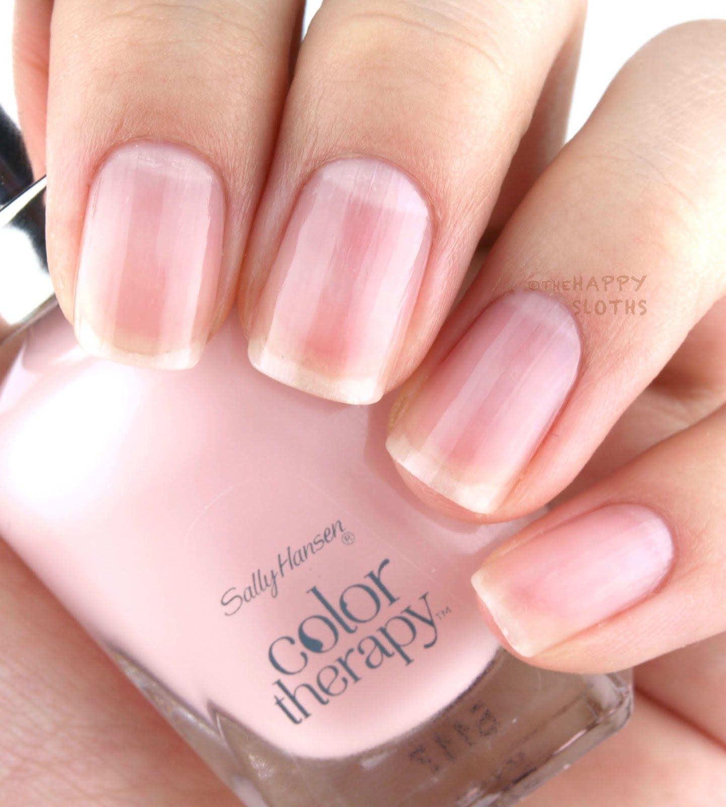 Colour therapy for beauty - The Happy Sloths Sally Hansen Color Therapy Nail Polish Review And Swatches