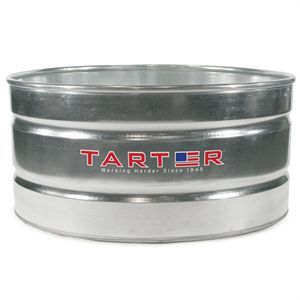 Tarter 174 Galvanized Stock Tank 170 Gallon Garden Goddess