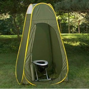 Camping Toilet Tent Privacy Pop Up Was Super Simple To Set And Bring Down Join Dookie Sacks