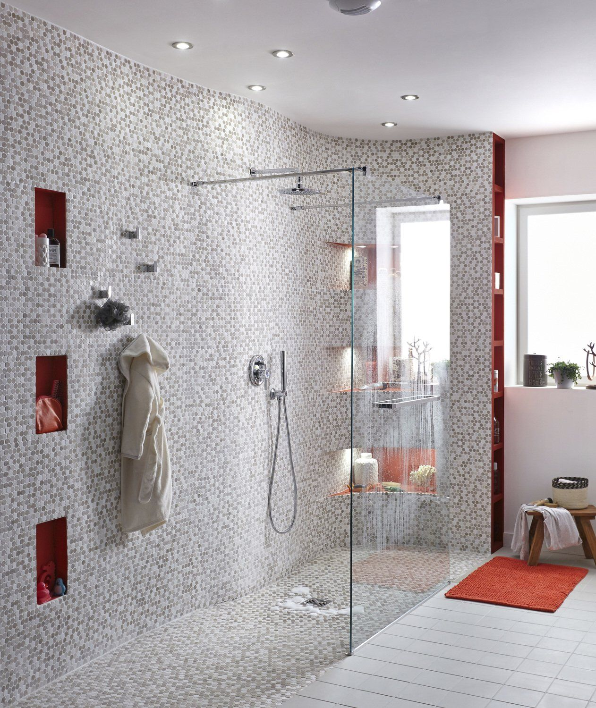 Bathroom White Beige Natural Sensea Douche Italienne Design Salle De Bains Moderne Design De Salle De Bain