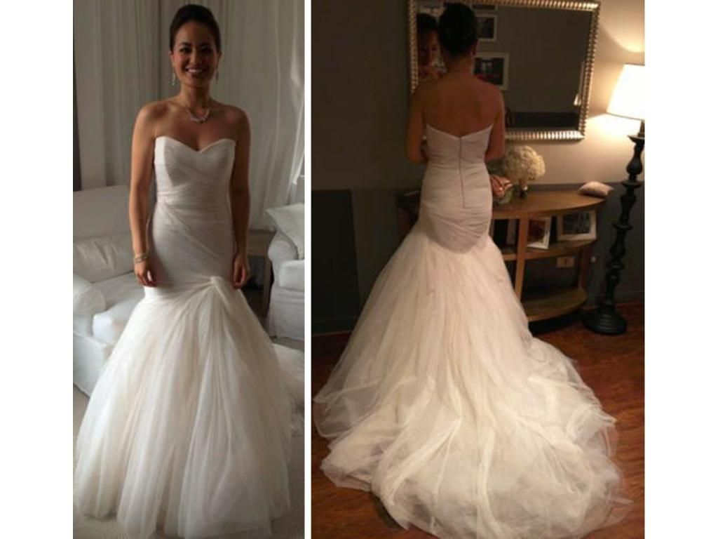 Monique Lhuillier Forever, $3,650 Size: 6 | Used Wedding Dresses ...