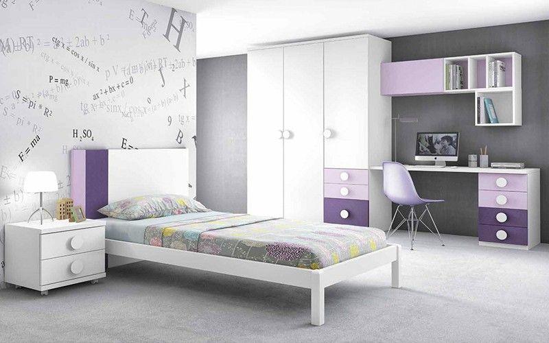 diseños de dormitorios juveniles simples - Buscar con Google | Casa ...