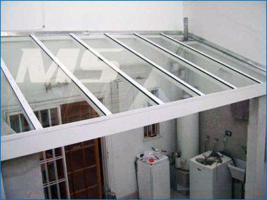 Techos de vidrio techos pinterest techo de vidrio - Vidrio de policarbonato ...