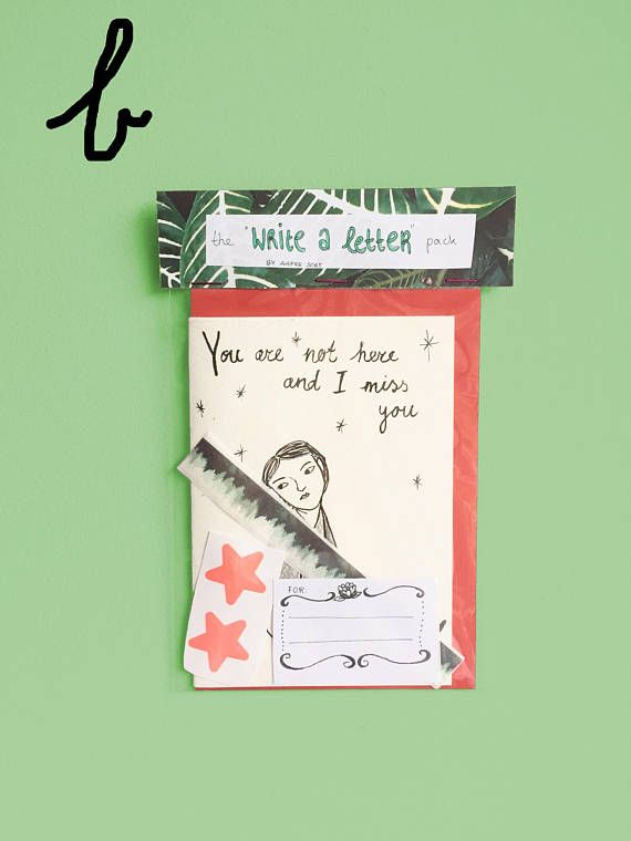The Write A LetterPack Is Perfect To Send To Your Best Friend
