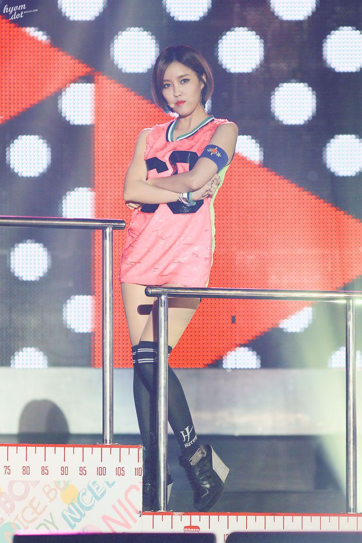 [HD] 140816 Hyomin @ DMZ Peace Concert ©Hyomdot