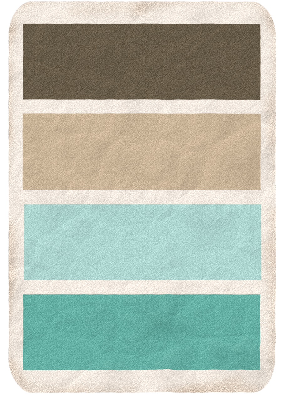 Blue Brown Color Scheme For Curtains In My Living Room