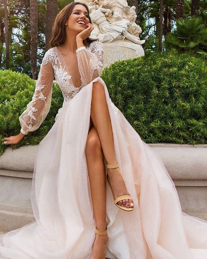 Bridesmaid dresses with sleeves wedding dress