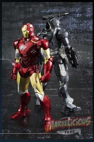 BANDAI S.H.FIGUARTS IRON MAN MARK VI     ////  Marvelicious Toys - The Marvel Universe Toy & Collectibles Podcast