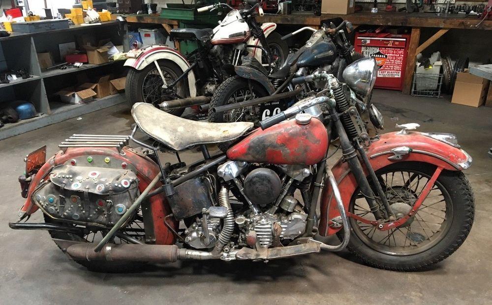 Ebay 1947 Harley Davidson El 1947 Harley Davidson Knucklehead