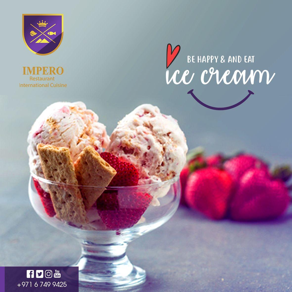 ايش رائيك تبعد عن الجو الحر و تطلع علي امبيرو تطلب الذ ايس كريم Eat Wish Imperorestaurant Eat Cuisine Desserts