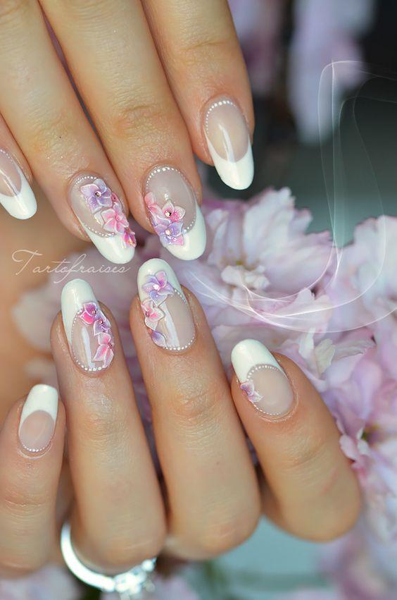 Tartofraises Nail Nails Nailart Krmk Pinterest Nagel