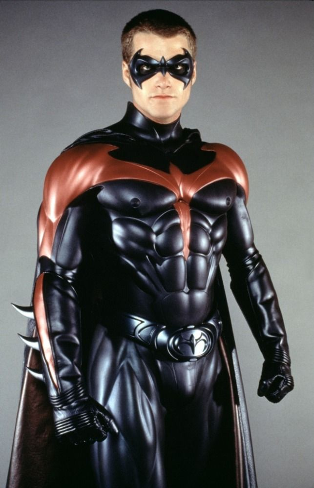 Chris O Donnell As Robin For Batman Robin 1997 Batman And Robin 1997 Batman Film Batman