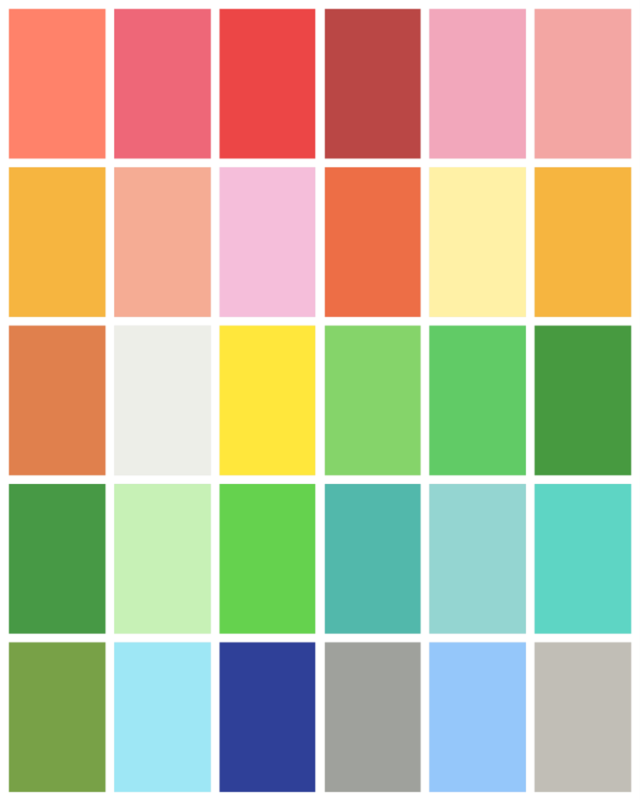 Spring Color Palette Spring Color Palette Spring Colors