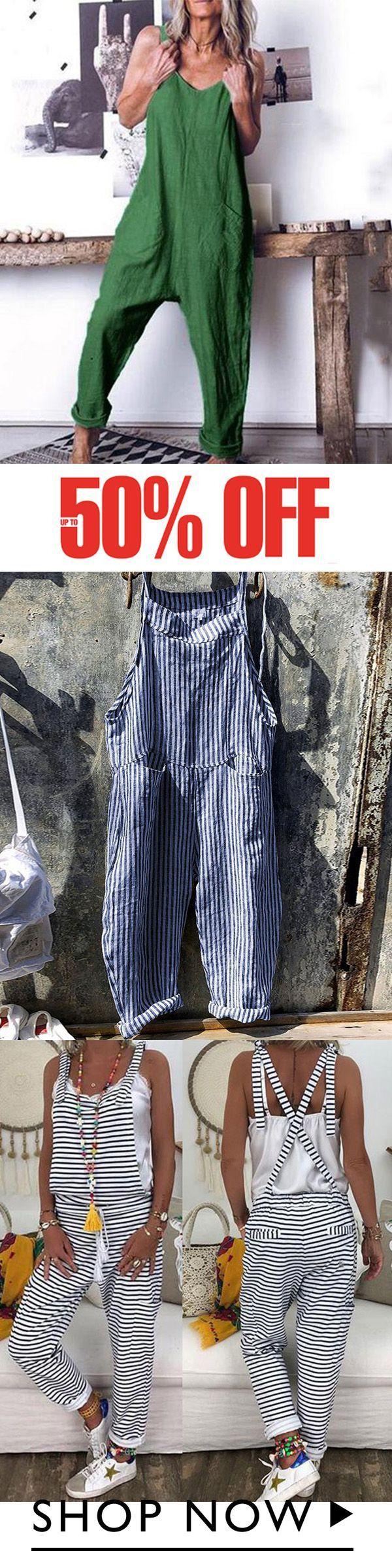 Photo of Mono a rayas con correa Pantalones anchos – Tuta – #anchos #con #correa #J …