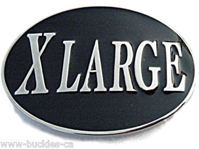 Xlarge X Large Big Belt Buckle #xlarge #xl #funnybuckle #humorbuckle #coolbuckles #beltbuckle #buckles