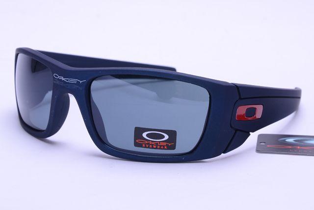 Womens Oakley Blue Black--Gray Lens