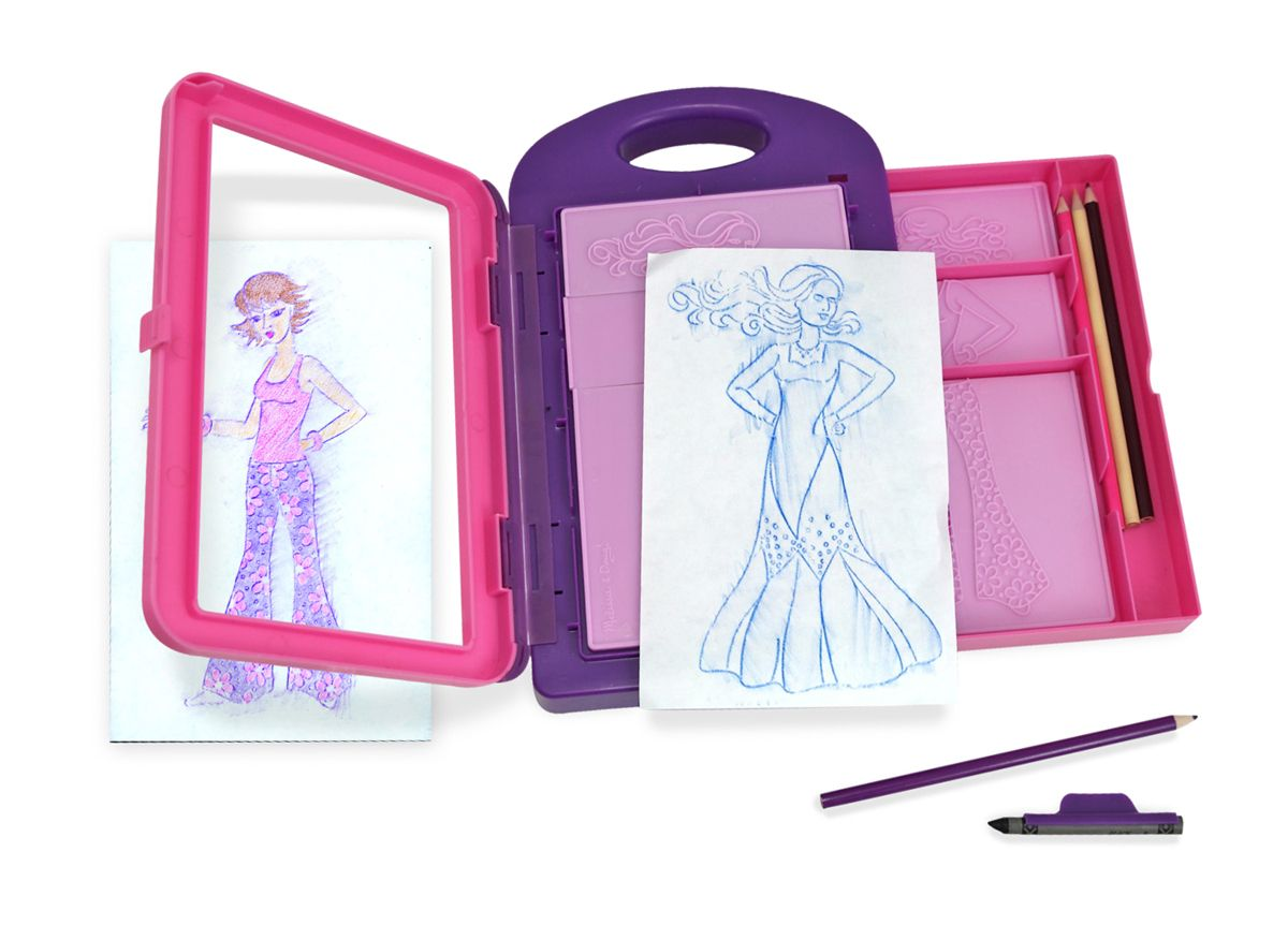 Fashion design activity kit toys for year olds melissa and