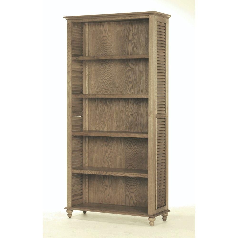 Home Decorators Collection Shutter 5 Shelf Open Bookcase In