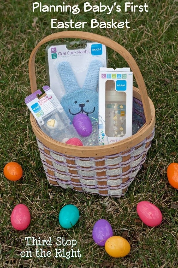 Ways to create babys first easter basket easter baskets easter how to plan a babys first easter basket since they cant eat candy or negle Image collections