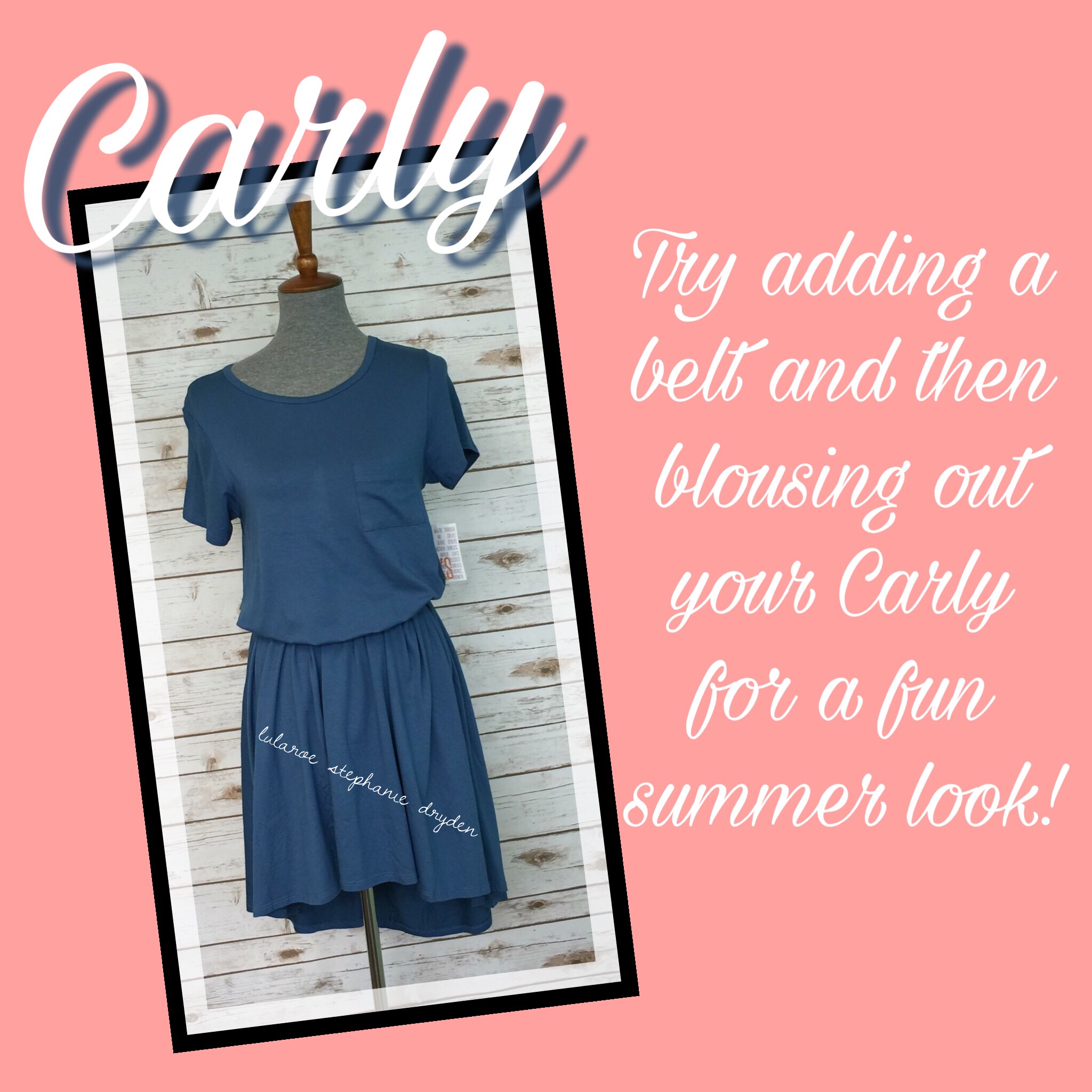 Cute way to change up your Carly.