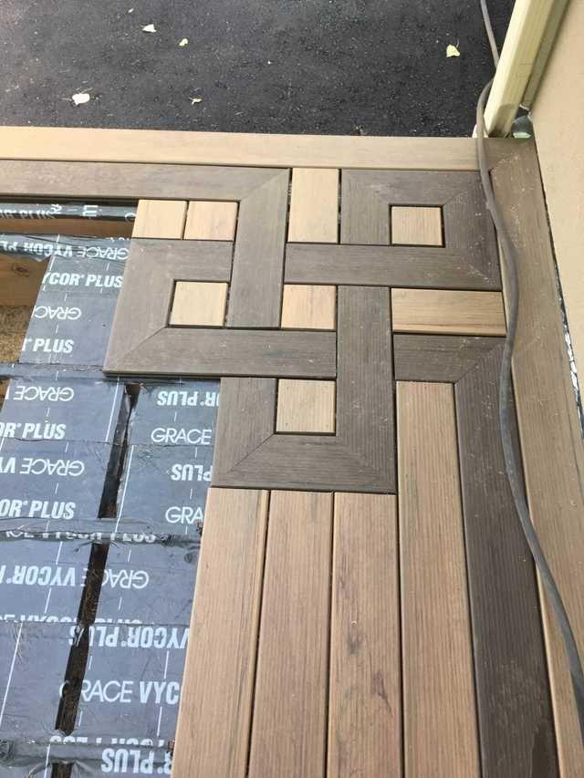 Nur ein paar in Bearbeitung -Anfertigungen auf einigen Decks, die ich gebaut habe. – Imgur #backyardremodel