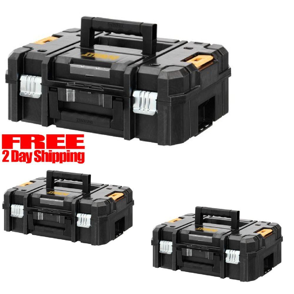 Dewalt Storage Case Organizer Tool Tough System Toolbox