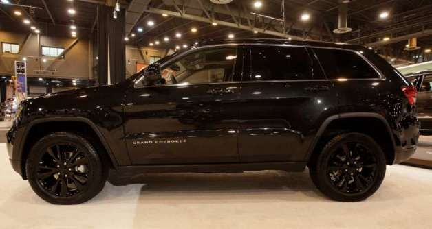 Jeep Wrangler Pickup >> VWVortex.com - Jeep Releases Blacked-Out Grand Cherokee Concept | My Candy | Jeep grand cherokee ...
