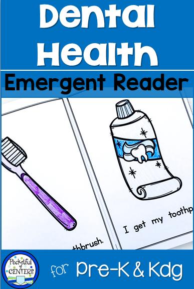 Dental Health Emergent Reader | Teacher\'s Helper | Pinterest