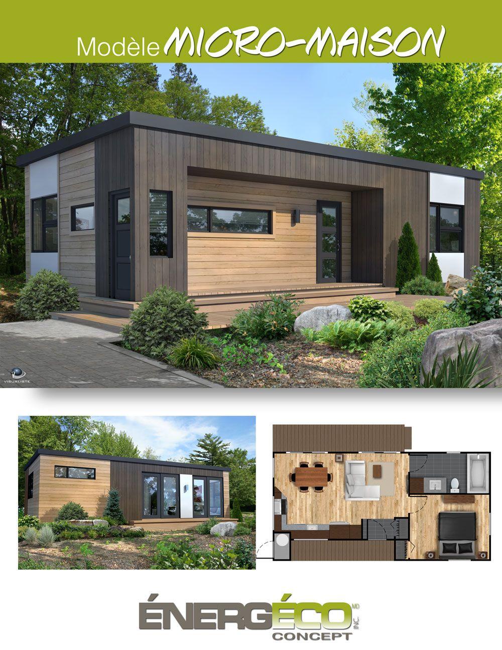 Micro maison et plan québec maison modèle maison énergeco