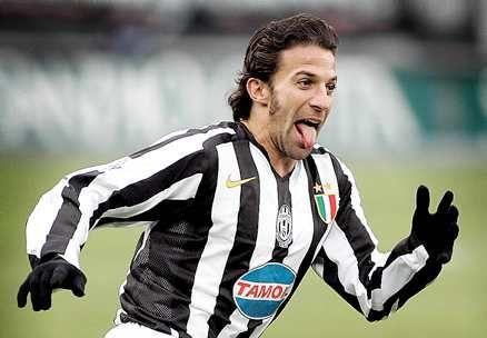 Alessandro Del Piero tongue #capitano