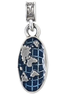 Nomades world charm 925 sterling silver map of the world nomades world charm 925 sterling silver map of the world globe is sciox Choice Image