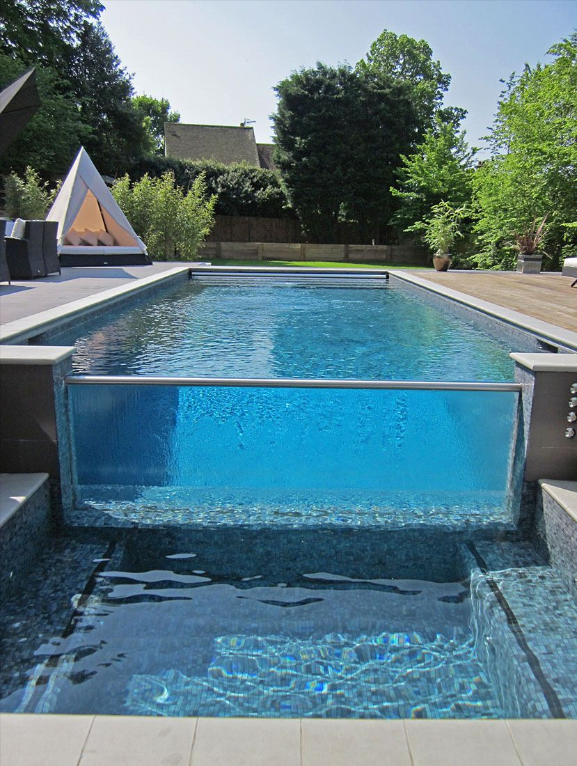 glass pool #Schwimmbad. www.bsw-web.de Schwimmbad bauen Schwimmbad ...