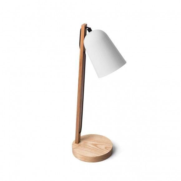 Tischlampe Bell Weiss Holz Mark Edgar H Caro Pinterest Chambre