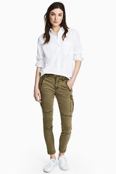 Pantalon cargo in 2019   Tenue   Pinterest   Pants, Cargo Pants und ... 645bb3b7ac