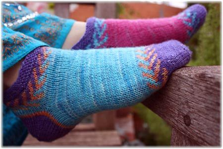 Crystal Socklet and colour combining