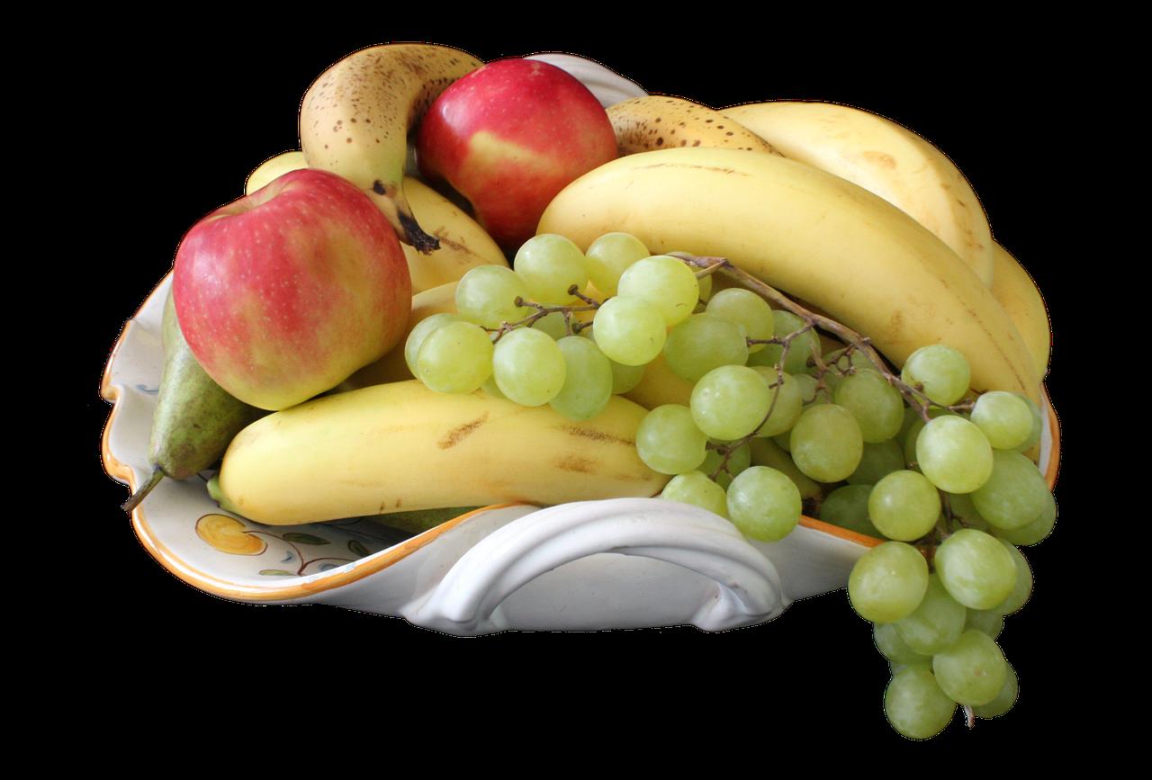 Food Fruit Bowl Png Banana Apple Grape Food Fruit Bowl Png Banana Apple Grape Potassium Foods Acne Treatment Oily Skin Treatment