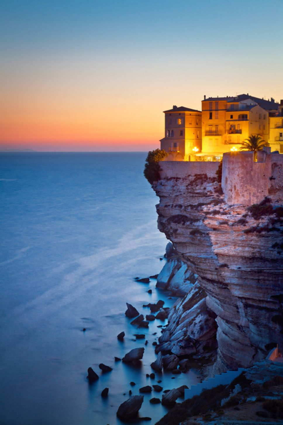 Bonifacio Corse France Love Corsica We Had A Magical Evening Under The Fireworks In This Town