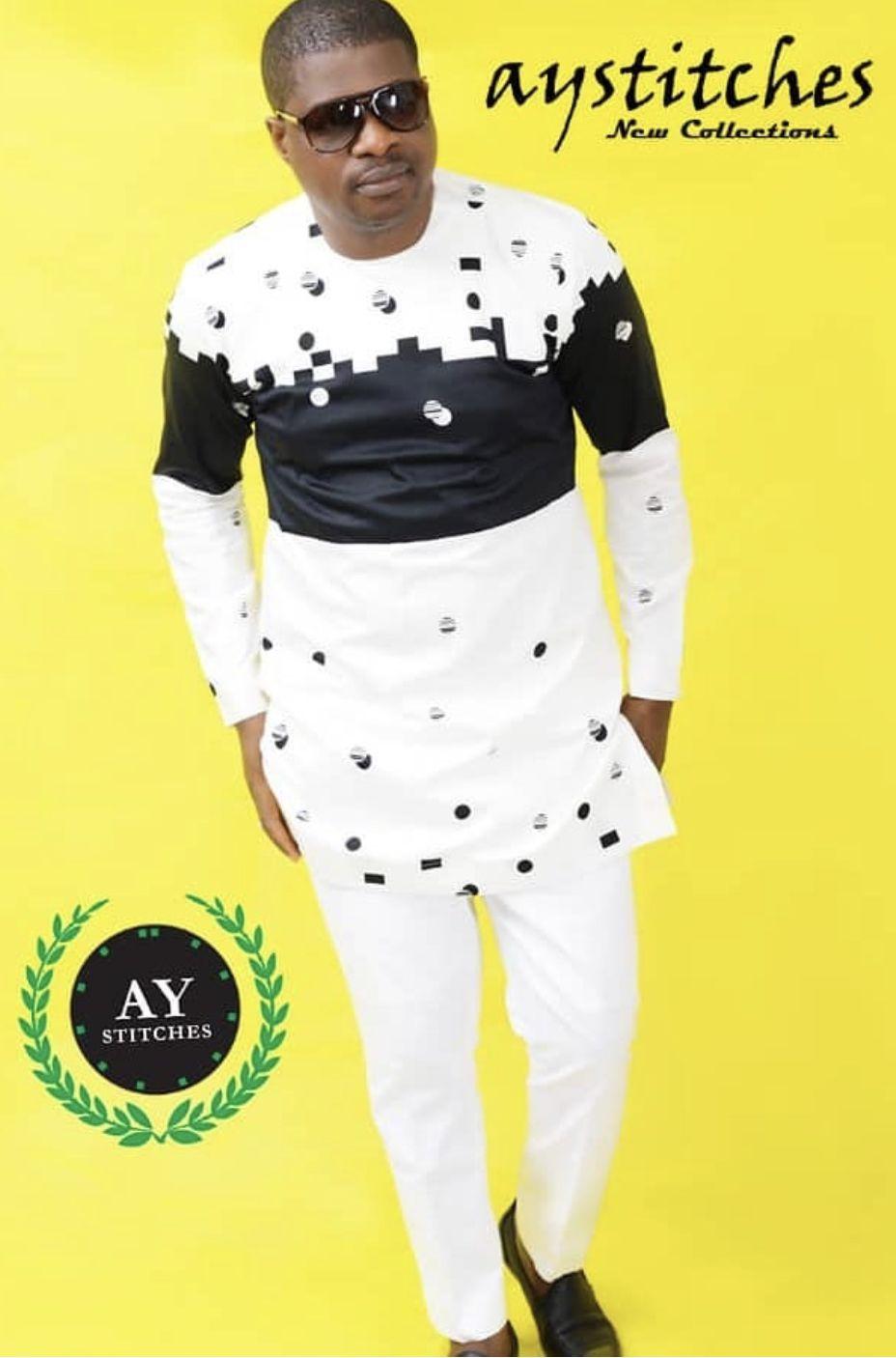44b5509b9a781 Ay Stitches | Stephen's Fashion List in 2019 | African men fashion ...