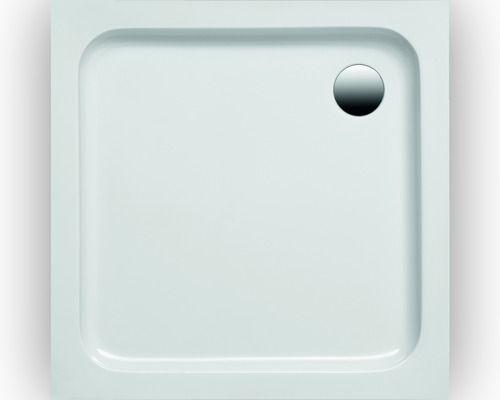 Flache Duschwanne Imola 800x800x60 mm weiss Duschwanne