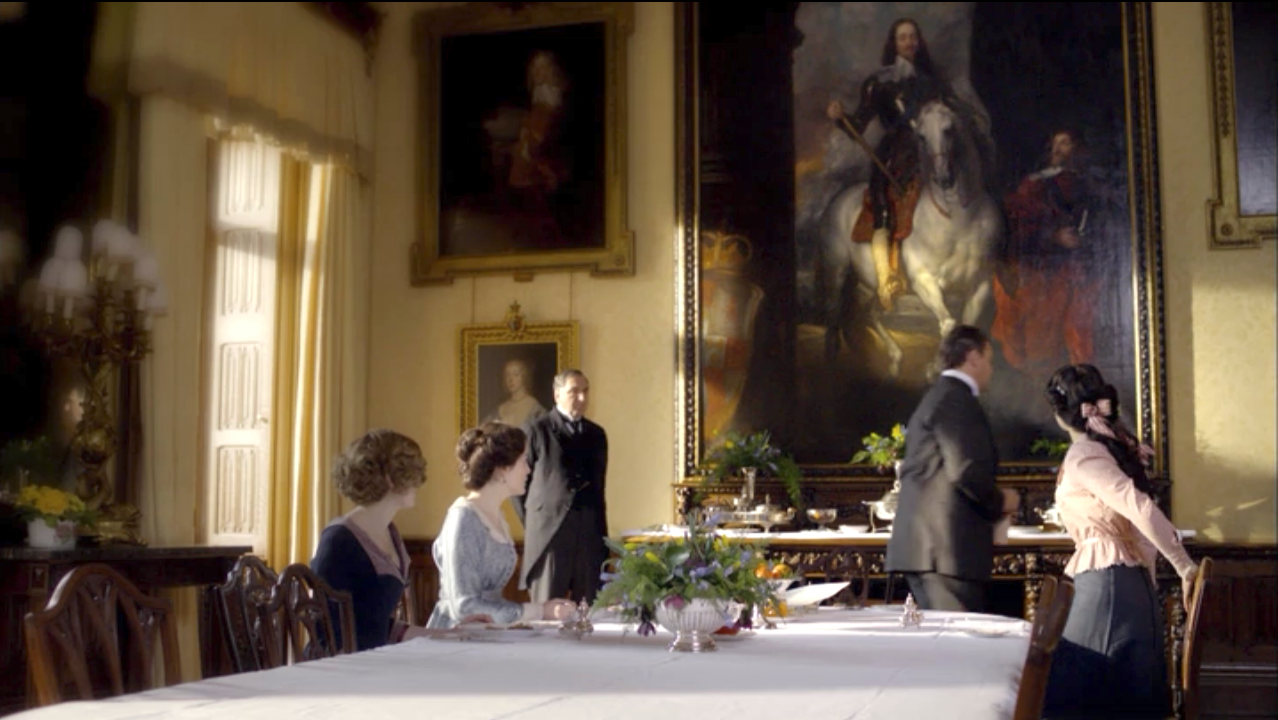 Downton Abbey Dining Room  Google Search  Chateau Dining Room Extraordinary Highclere Castle Dining Room Inspiration Design