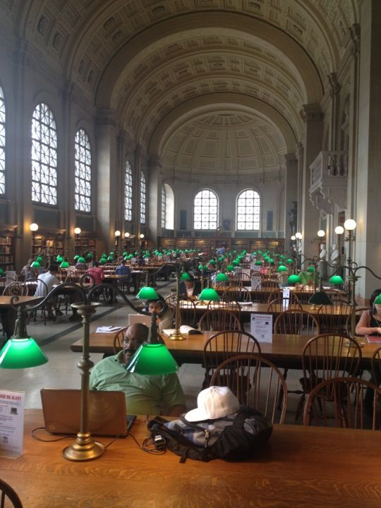 Boston Public Library Boston Public Library Boston Boston University