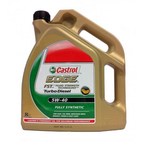 Tepalas Castrol Edge 5w40 Turbo Diesel Fst 5l Diesel Turbo Dish Soap Bottle