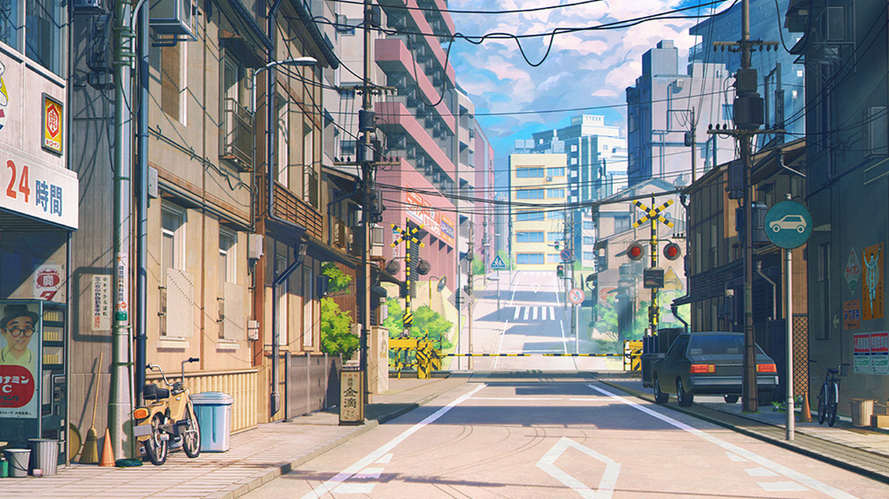 Tokyo Anime Google Search In 2020 Anime Scenery Desktop Wallpaper Art Anime Scenery Wallpaper