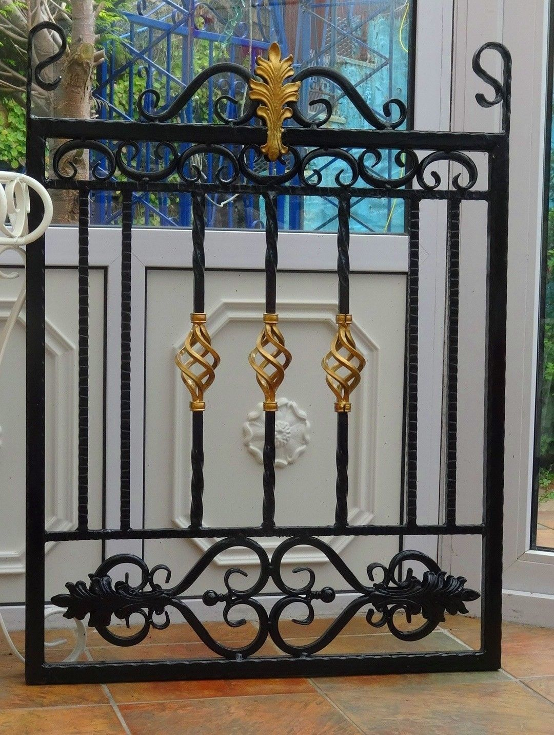 Details About Wrought Iron Gate Single Gate Garden Gate Drive