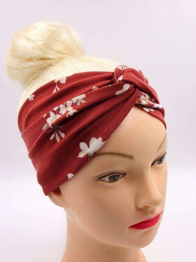 Haarband *Kimono* Turban Twisted Stirnband geblümt   Turban and Kimonos