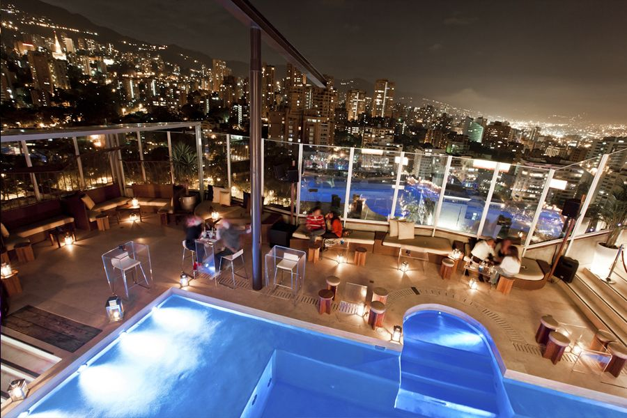 Hotel The Charlee Medellin Rooftop