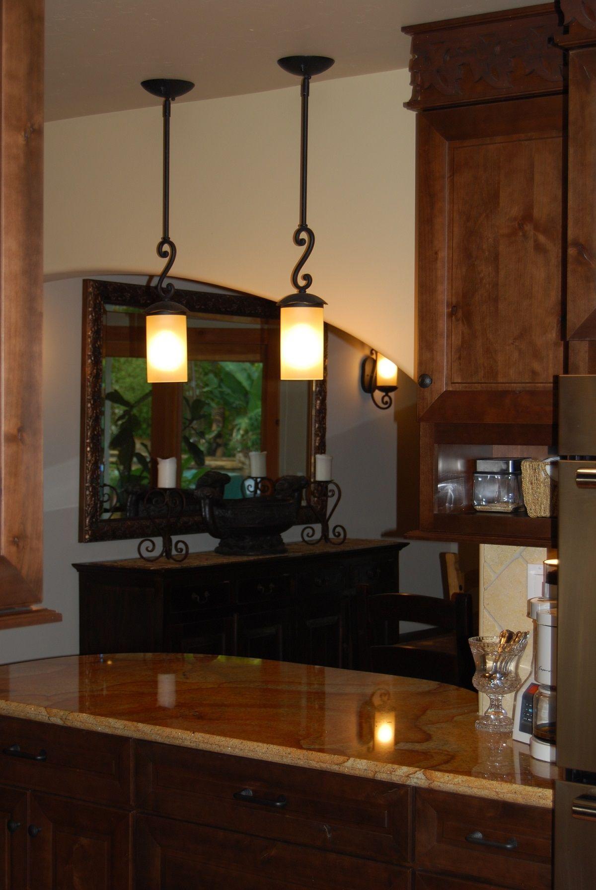 Wrought Iron Kitchen Pendant Lighting Wrought Iron Light