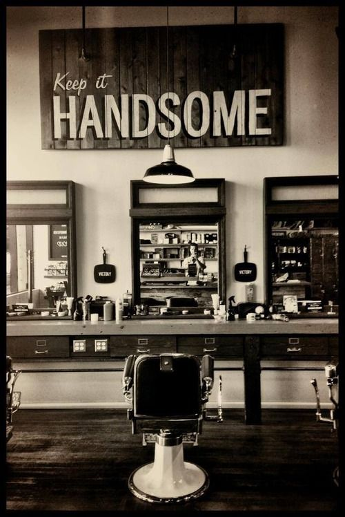 El Barber Shop, vaya usted a saber en cuál cautivador rincón de los EE.UU.